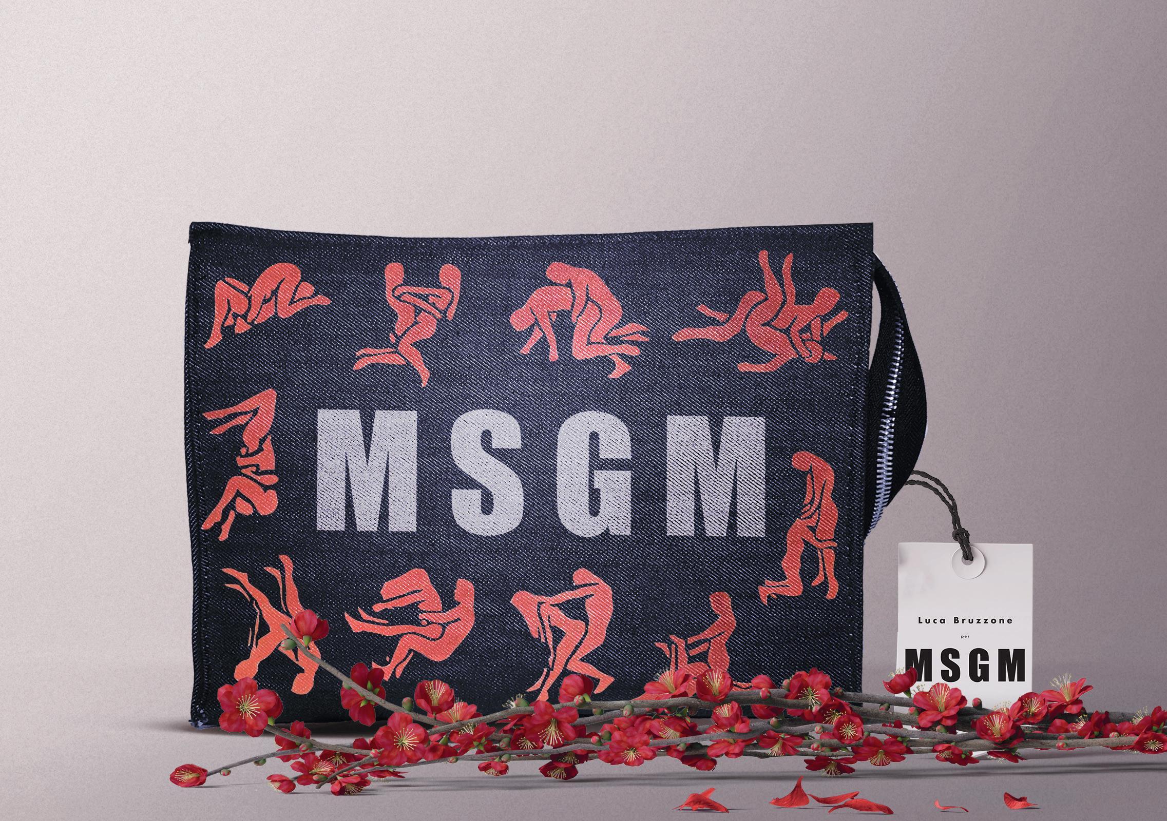 pochette msgm